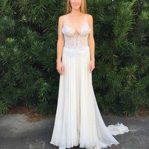 Custom Pnina Tornai Wedding Gown -  Size 4